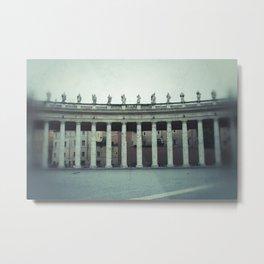 Bernini's Colonnade Metal Print