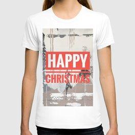 Snowfall - Happy Christmas T-shirt