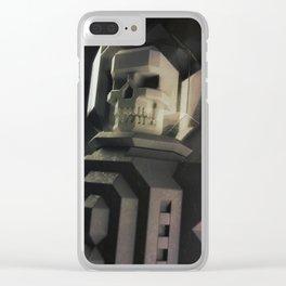 Necronaut low-polygon 3D artwork Clear iPhone Case