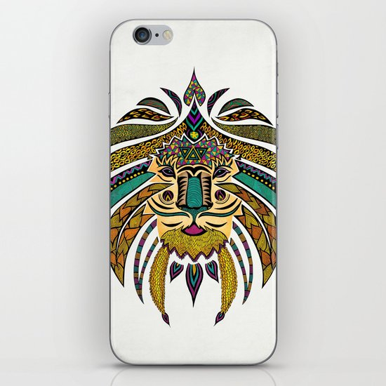 Emperor Tribal Lion iPhone & iPod Skin