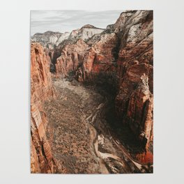 Zion Canyon Scenic Road Poster