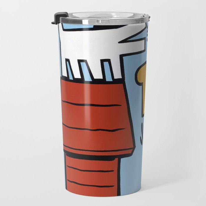 Keith Haring + Charles Schulz Travel Mug