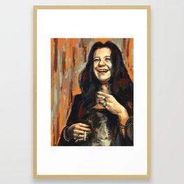 Janis J Framed Art Print