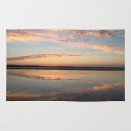 Tillamook Bay, Oregon Sunset Rug