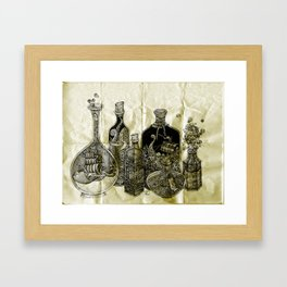 sea witch's cabinet Framed Art Print