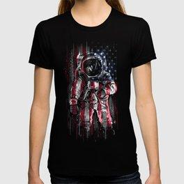 Astronaut Flag T-shirt