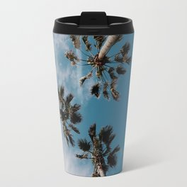Palm Tree Summer Fun Travel Mug