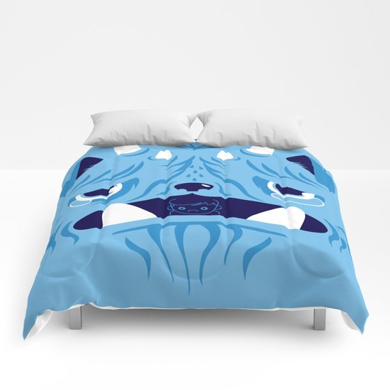 The Bluest Monster Ever :(( Comforters