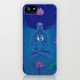 Flower of the Universe iPhone Case
