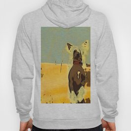 Chinese crested 4 Hoody