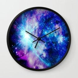 galaxy Nebula Star Wall Clock