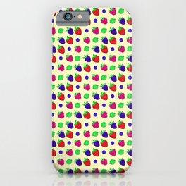 Berry mix iPhone Case