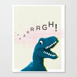Dinosaur Run! Canvas Print
