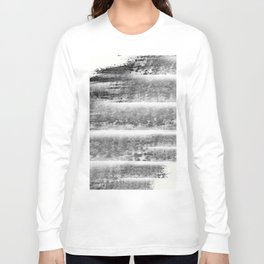 """""""Levels - Black and White"""" Long Sleeve T-shirt"""