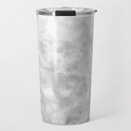 Shiny Sparkling Metal Snow Travel Mug