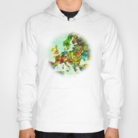 europe Hoodies featuring Europe Splatter Map by Gary Grayson