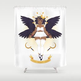 Come Sweet Death Shower Curtain