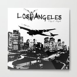 Los Angeles: City of Angels Metal Print