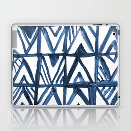 Geometric Indigo Laptop & iPad Skin