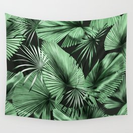 Palm Springs (Noir) Wall Tapestry
