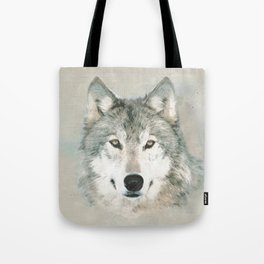 The Gray Wolf - Sketch Tote Bag