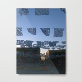 papel picado-cut paper Metal Print