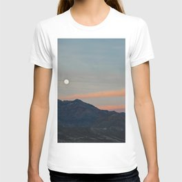 Full Moon Over Death Valley T-shirt