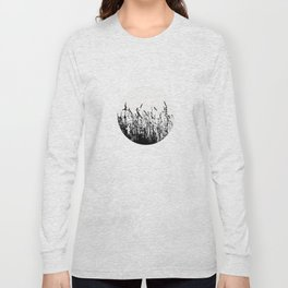 grass bw Long Sleeve T-shirt