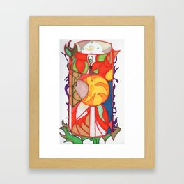 sunshine in a cup Framed Art Print
