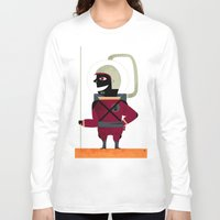 spaceman Long Sleeve T-shirts featuring SPACEMAN by Eleonora