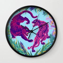Take Me To The Wild Wall Clock