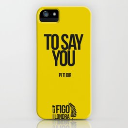 PI TI DIR iPhone Case