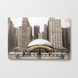 Cloud Gate / The Bean Chicago Metal Print