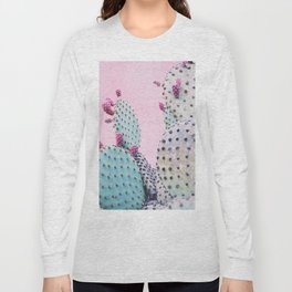 Pink Crush Cactus I Long Sleeve T-shirt