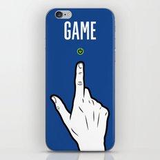On iPhone Skin
