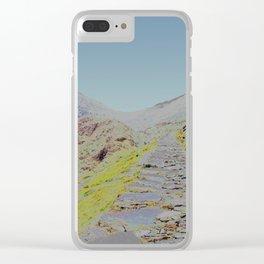 Chromascape 15 (Snowdon, Wales) Clear iPhone Case