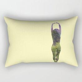 Mountain Flowers Rectangular Pillow