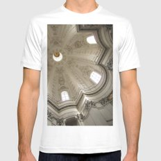 Borromini's Sant'Ivo MEDIUM Mens Fitted Tee White