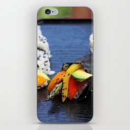 Sushi California Roll iPhone Skin