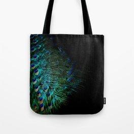 Peacock Details Tote Bag