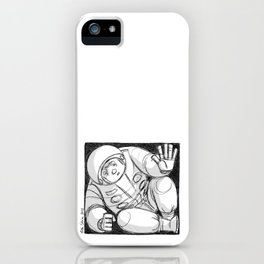 Can I come down? iPhone Case