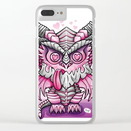Kawaii Deathwing Clear iPhone Case