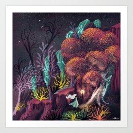 Curious Company Art Print