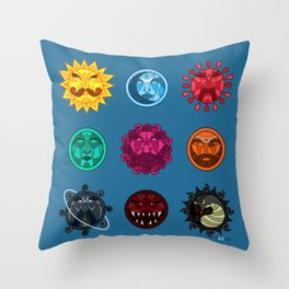 Astrology Throw Pillow