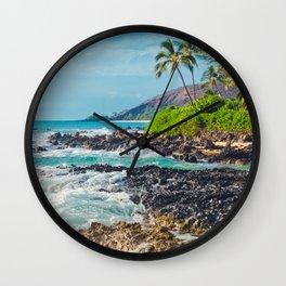 Paako Beach Blue Sensation Wall Clock