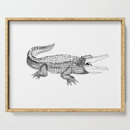 The Crocodile Serving Tray
