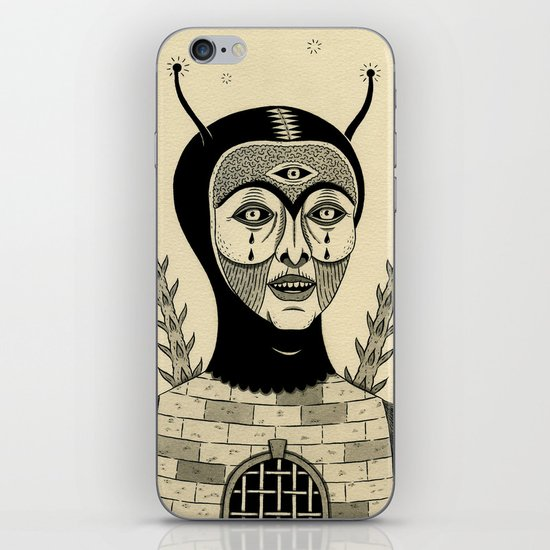 Preternatural Prison iPhone & iPod Skin