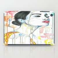 watercolour iPad Cases featuring watercolour by Udya