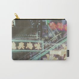 Hongkong Signs V Carry-All Pouch