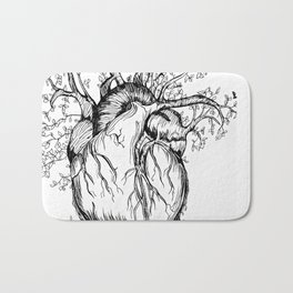 Heart of Nature Bath Mat